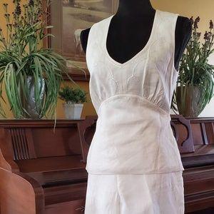 Liz Claiborne Linen Pant Suit 6
